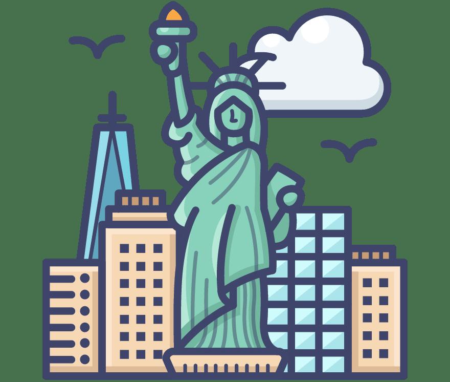 Labākie 17 Tiešsaistes kazinos Jungtinės Valstijos 2021
