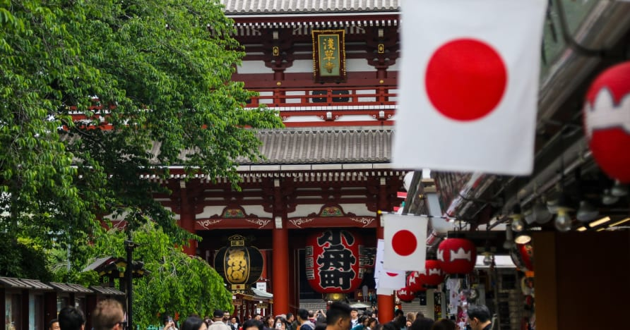 Labākā tiešsaistes kazino atlase Japānā